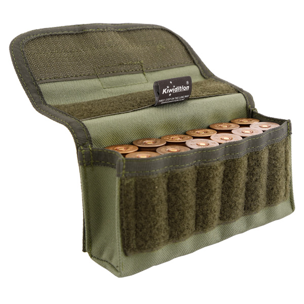 Патронташ-подсумок Kiwidition 12rnd Pouch Nylon 1000 den multicam