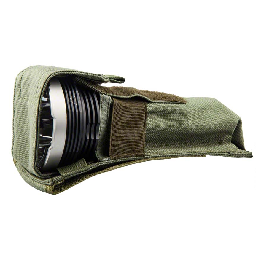 Подсумок для фонаря Kiwidition Flashlight Pouch (AK) Nylon 1000 Den черный