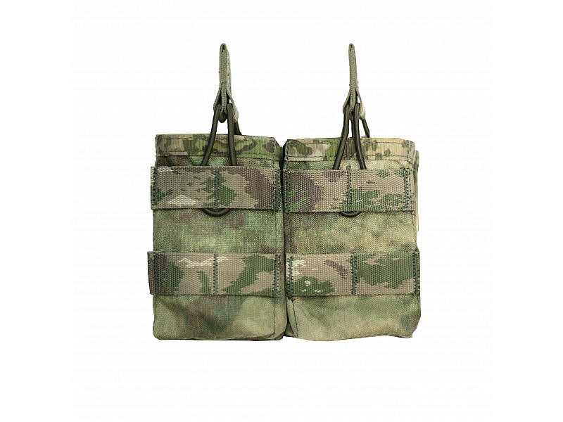 Подсумок Double MOLLE Open AK 7.62mm Warrior Assault Systems двойной открытый, цвет – A-TACS FG