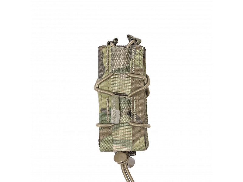 Подсумок MOLLE Single Quick Mag for 9mm Pistol Warrior Assault Systems для пистолетного магазина 9мм, цвет – MultiCam.