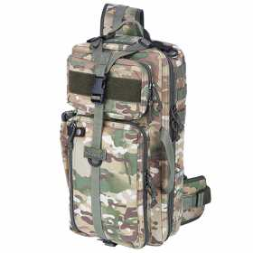 Рюкзак однолямочный Kiwidition Tawaho City 15л Nylon 1000 den multicam