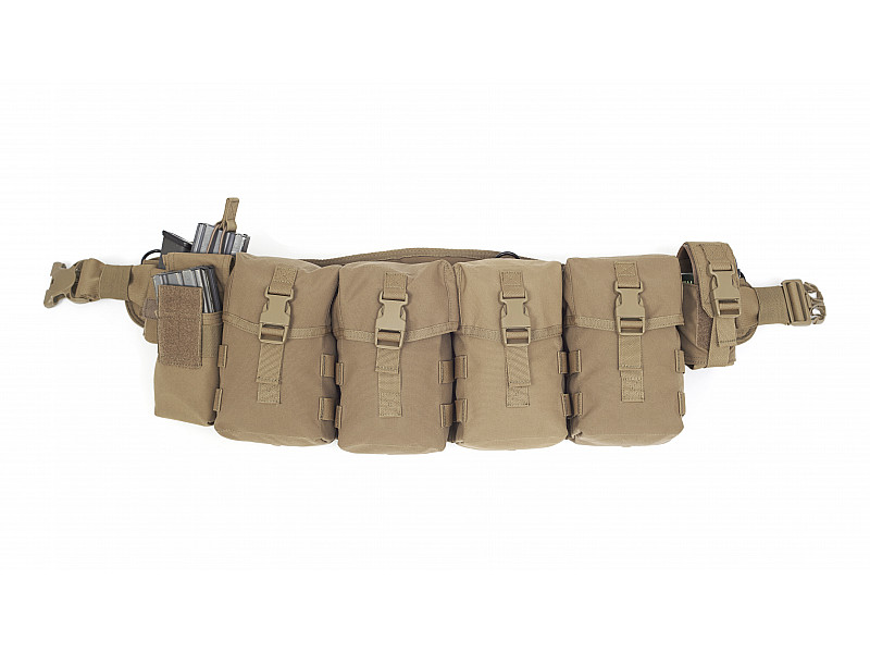 Тактический пояс Elite Ops Enhanced PLB Mk 4 Utility Combo Warrior Assault Systems, цвет – Coyote Tan