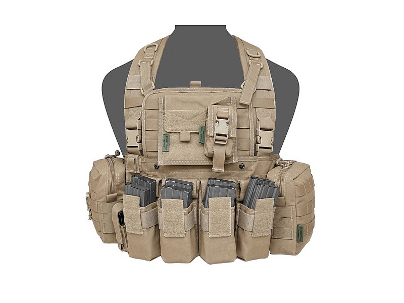 Жилет 901 Elite Ops M4 Bravo Warrior Assault Systems тактический разгрузочный, Coyote Tan